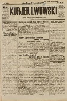 Kurjer Lwowski : organ demokratycznej inteligencji. 1925, nr223