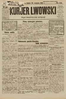 Kurjer Lwowski : organ demokratycznej inteligencji. 1925, nr225