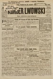 Kurjer Lwowski : organ demokratycznej inteligencji. 1925, nr227