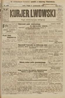 Kurjer Lwowski : organ demokratycznej inteligencji. 1925, nr230
