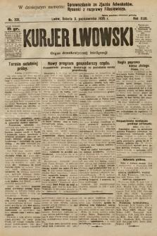 Kurjer Lwowski. 1925, nr231