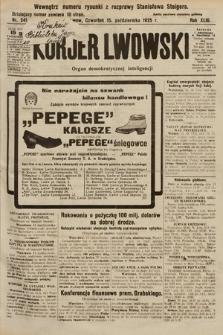 Kurjer Lwowski : organ demokratycznej inteligencji. 1925, nr241