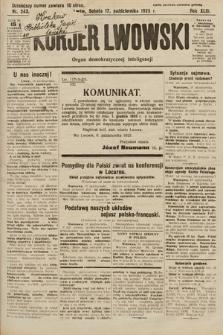 Kurjer Lwowski : organ demokratycznej inteligencji. 1925, nr243