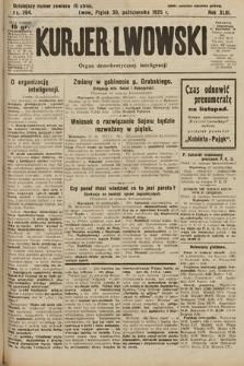 Kurjer Lwowski : organ demokratycznej inteligencji. 1925, nr254
