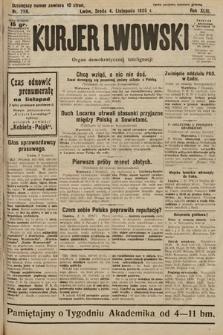 Kurjer Lwowski : organ demokratycznej inteligencji. 1925, nr258