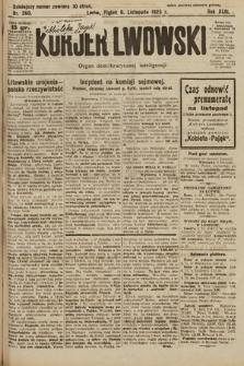 Kurjer Lwowski : organ demokratycznej inteligencji. 1925, nr260
