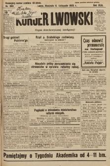 Kurjer Lwowski : organ demokratycznej inteligencji. 1925, nr262