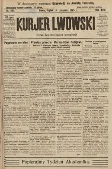Kurjer Lwowski : organ demokratycznej inteligencji. 1925, nr266