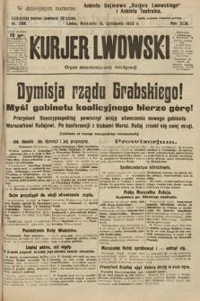 Kurjer Lwowski : organ demokratycznej inteligencji. 1925, nr268
