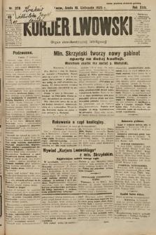 Kurjer Lwowski : organ demokratycznej inteligencji. 1925, nr270