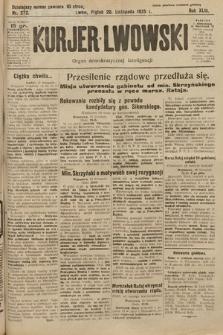 Kurjer Lwowski : organ demokratycznej inteligencji. 1925, nr272