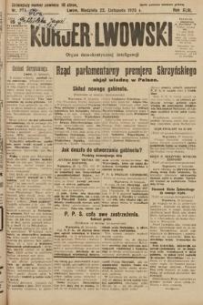Kurjer Lwowski : organ demokratycznej inteligencji. 1925, nr274