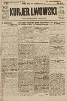 Kurjer Lwowski : organ demokratycznej inteligencji. 1925, nr276
