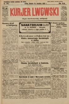 Kurjer Lwowski : organ demokratycznej inteligencji. 1925, nr282