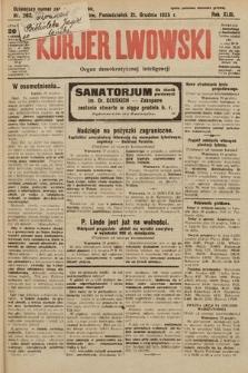 Kurjer Lwowski : organ demokratycznej inteligencji. 1925, nr284