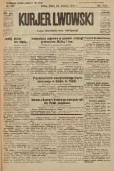 Kurjer Lwowski : organ demokratycznej inteligencji. 1925, nr288