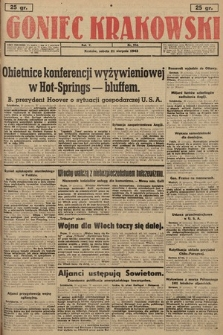 Goniec Krakowski. 1943, nr194