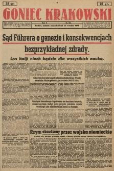Goniec Krakowski. 1943, nr213
