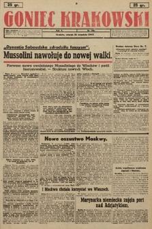 Goniec Krakowski. 1943, nr220