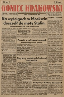 Goniec Krakowski. 1943, nr257