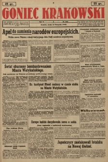 Goniec Krakowski. 1943, nr262