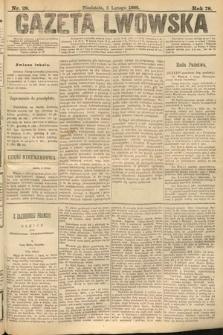 Gazeta Lwowska. 1888, nr 28