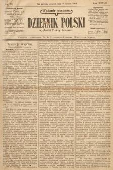 Dziennik Polski (wydanie poranne). 1904, nr22