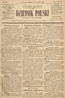 Dziennik Polski (wydanie poranne). 1904, nr34
