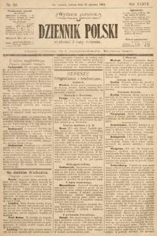 Dziennik Polski (wydanie poranne). 1904, nr50