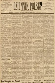 Dziennik Polski (wydanie poranne). 1904, nr77