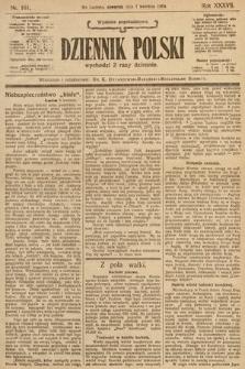 Dziennik Polski (wydanie popołudniowe). 1904, nr161