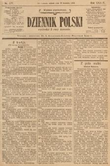 Dziennik Polski (wydanie popołudniowe). 1904, nr177