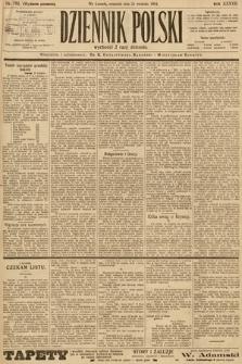 Dziennik Polski (wydanie poranne). 1904, nr184