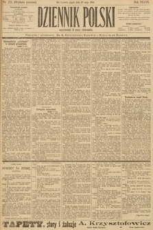 Dziennik Polski (wydanie poranne). 1904, nr233