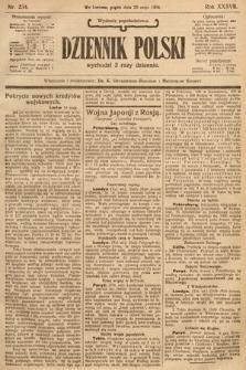 Dziennik Polski (wydanie popołudniowe). 1904, nr234