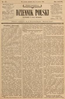 Dziennik Polski (wydanie popołudniowe). 1904, nr271