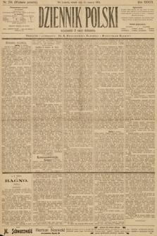 Dziennik Polski (wydanie poranne). 1904, nr274