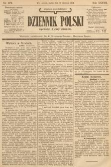 Dziennik Polski (wydanie popołudniowe). 1904, nr279