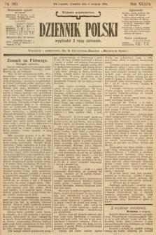 Dziennik Polski (wydanie popołudniowe). 1904, nr360