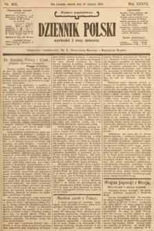 Dziennik Polski (wydanie popołudniowe). 1904, nr403