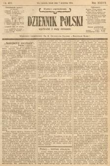 Dziennik Polski (wydanie popołudniowe). 1904, nr417