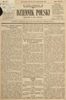 Dziennik Polski (wydanie popołudniowe). 1904, nr471