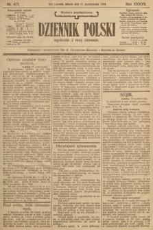 Dziennik Polski (wydanie popołudniowe). 1904, nr473