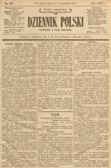 Dziennik Polski (wydanie popołudniowe). 1904, nr481