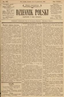 Dziennik Polski (wydanie popołudniowe). 1904, nr489