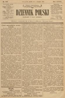Dziennik Polski (wydanie popołudniowe). 1904, nr509