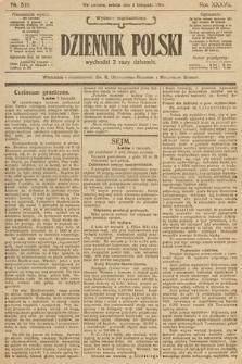 Dziennik Polski (wydanie popołudniowe). 1904, nr516