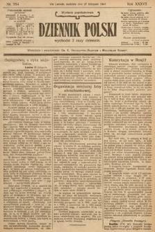 Dziennik Polski (wydanie popołudniowe). 1904, nr554