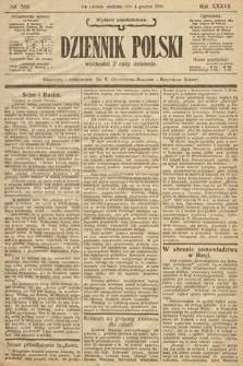 Dziennik Polski (wydanie popołudniowe). 1904, nr566