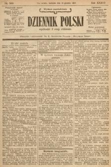 Dziennik Polski (wydanie popołudniowe). 1904, nr589